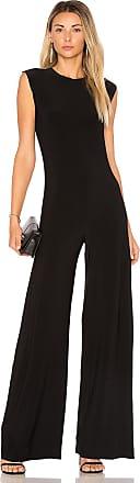 Norma Kamali Sleeveless Jumpsuit in Black