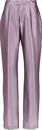Tufi Duek Calça alfaiataria de seda - Rosa