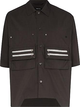 Nulabel Camisa com bolso - Cinza