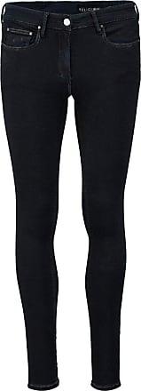 Religion Womens Bones Lacrimal Super Skinny Jeans, Blue (Fuel Wash), W26/L32