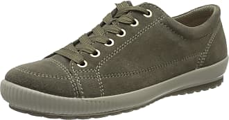 Legero Womens Tanaro Low-Top Sneakers, Green (Flint (Grün) 76), 4.5 UK