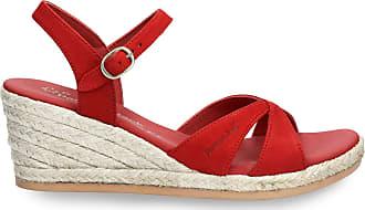 Panama Jack Womens Sandals Benisa B808 Nobuck Rojo/Red 38 EU