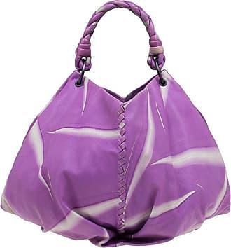 9e8ef8bedd Bottega Veneta Violet Tye Dye Leather Large Aquilone Fortune Cookie Hobo