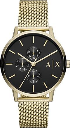 A|X Armani Exchange Relógio Quartz Cayde - Homem - Dourado - Único IT
