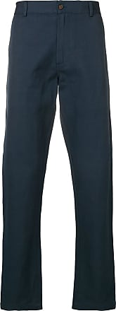 Universal Works twill Aston trousers - Blue