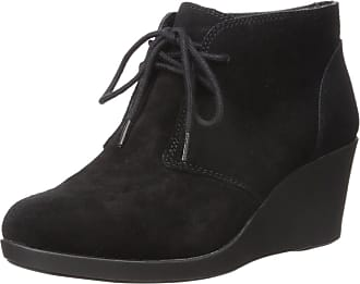 97c33129e Crocs Womens Leigh Suede Wedge Shootie Boot