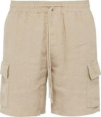 Vilebrequin Baie Linen Bermuda Shorts - Mens - Beige