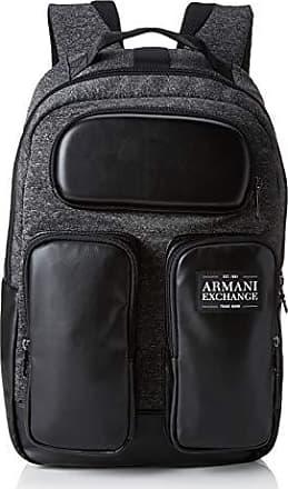 3a003191f5 Armani Pockets Backpack - Zaini Uomo, Nero (Dark Grey/Black), 44x18x27