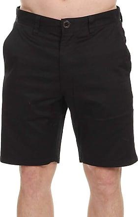 Volcom Mens Frickin Modern Stretch 19 Chino Short Jeans, Black, 31