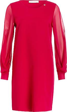 Kleid dunkelrot ruckenfrei