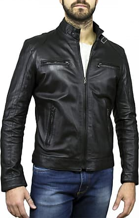 Leather Trend Italy Avatar - Giacca Uomo in Vera Pelle colore Nero Morbida