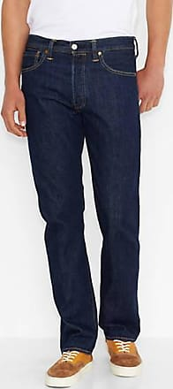 Levi's 501 Levis Original Fit Jeans - Dark Indigo / One Wash