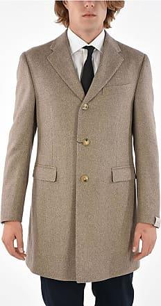 Corneliani 3 Button tweed chesterfield coat size 54