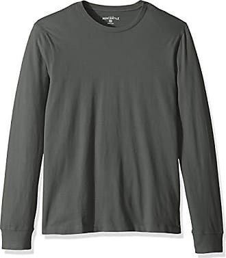 J.crew Mens Long-Sleeve Crewneck T-Shirt, Vintage sage, S
