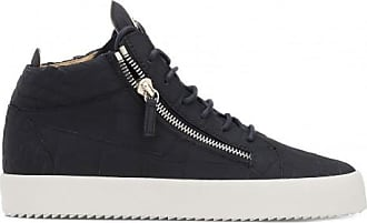 Giuseppe Zanotti Crocodile-embossed mid-top sneaker KRISS
