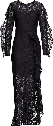 d37bd5bdaf23 BODYFLIRT boutique Dam Spetsklänning i svart 3/4-ärm - BODYFLIRT boutique