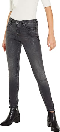 EDC by Esprit Womens 119CC1B004 Skinny Jeans, Black (Black Medium Wash 912), 31W x 32L