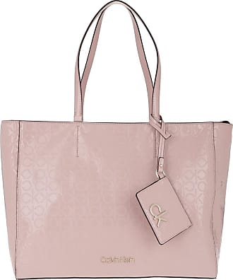 Calvin Klein Shopping Bags - Must Shopper Silver Pink - rose - Shopping Bags for ladies