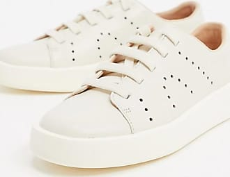 Camper Courb trainer in white leather