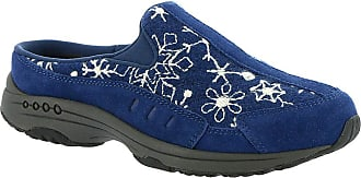 Easy Spirit Womens Travel Time Slip-On Sneakers Navy US 9.5 Extra Wide (E+, WW)