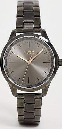 HUGO BOSS 1540042 Fearless bracelet watch in gunmetal 36mm-Grey