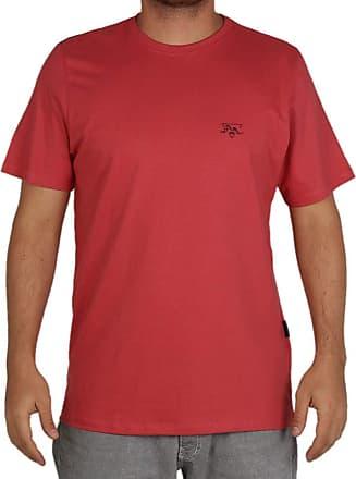 Wave Giant Camiseta Estampada Wg All Day - Vermelho - GG
