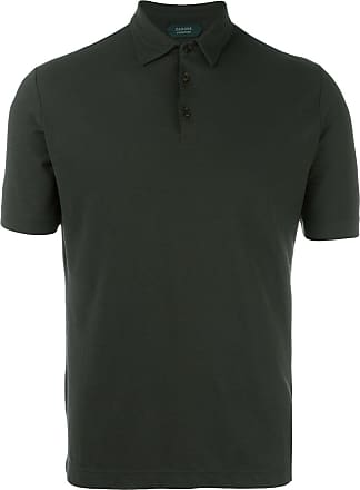 Zanone shortsleeved polo shirt - Green
