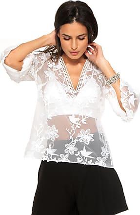 ce25f10208 Blusas com estampa Floral  Compre 9 marcas com até −61%
