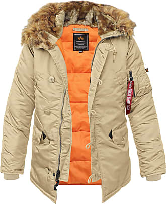 Alpha Industries N3B VF 59 Fliegerparka (Sale) caramel, Größe XL