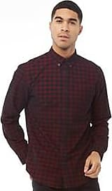 Ben Sherman long sleeve checked corduroy shirt