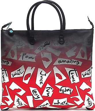 Gabs GABS Flat Bags G3 Size L - SAFFIANO PRINT + CERVO BLACK FLAT BAG PRINT 2