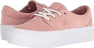 DC Womens Trase Platform LE Skate Shoe, Peach Parfait, 9 Medium US