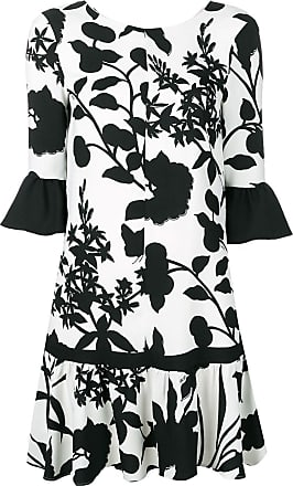 Liu Jo printed ruffle dress - White