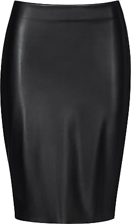 Wolford Estella Pencil Skirt-38-Black