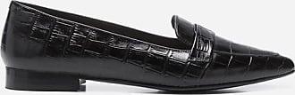 Flattered Alexandra Leather Croco Black
