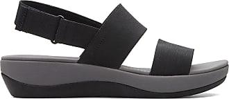 Clarks Womens Sandal Black Clarks Arla Jacory Size 7.5