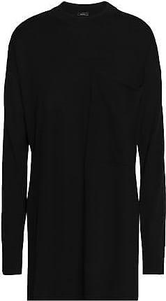 Joseph Joseph Woman Mélange Merino Wool Sweater Black Size S