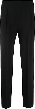 Incotex high-waisted pleated trousers - Black