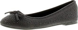 Platino Tasha 2 Womens Flats Shoes Black