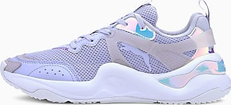 Puma Rise Glow Womens Trainers, Purple Heather, size 3.5, Shoes