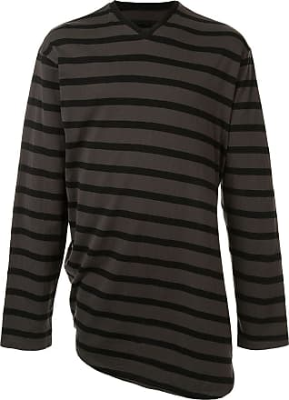 Julius T-shirt a righe - Color marrone