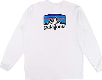 Patagonia Fitz Roy Horizon Responsibili Long Sleev white
