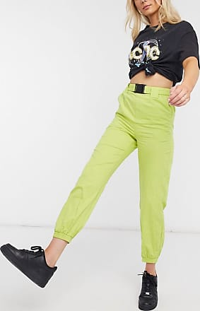 I Saw It First utility trousers in green
