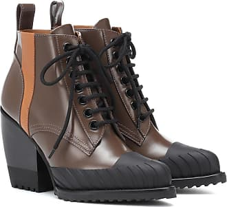 Chloé Rylee leather lace-up boots