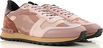 Valentino Sneakers for Women On Sale, Pink, Leather, 2017, 9