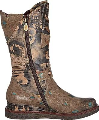 Laura Vita Womens Ercnaulto 16 High Boots, Brown (Taupe Taupe), 8 UK