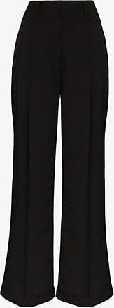 Xu Zhi Xu Zhi Womens Black Wide Leg Trousers