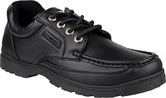 US Brass US Brass Stubby 3 Lace Up Shoe / Mens Shoes (8 UK) (Black)