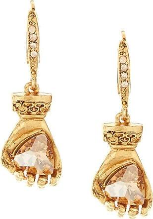 Oscar De La Renta Charm drop earrings - GOLD