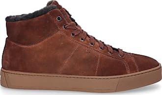 Santoni Sneaker high 20870 Veloursleder braun